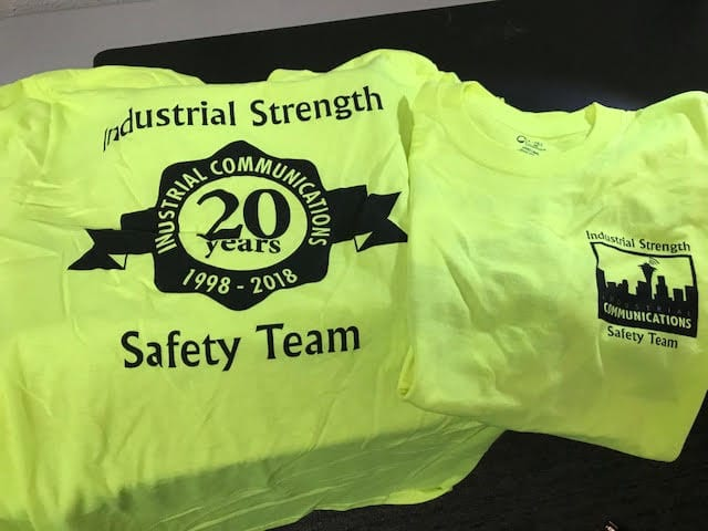 Industrial Strength Safety Team Tshirt