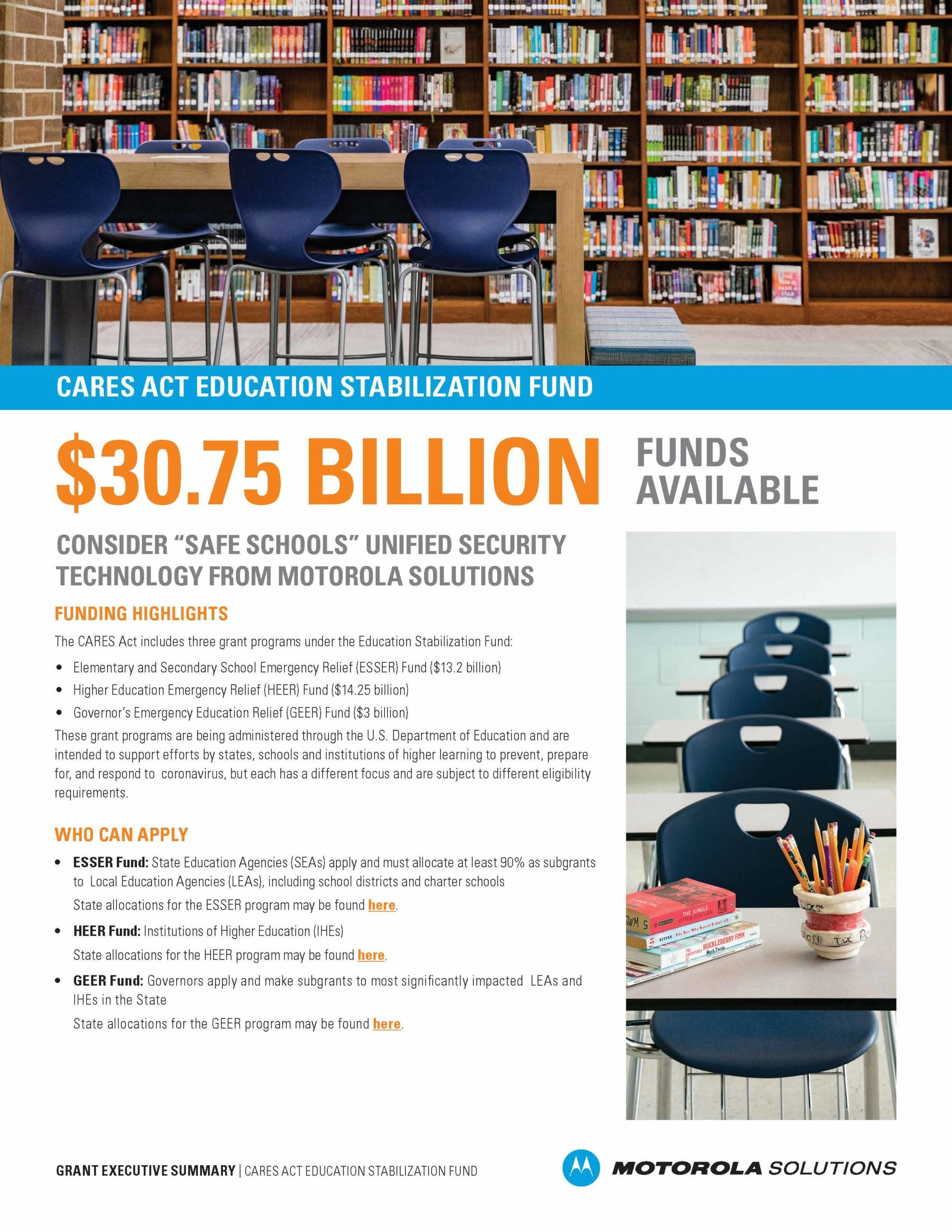 Safe School Solution Infographic
